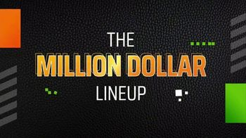DraftKings TV Spot, 'NFL Million Dollar Lineup: Week Three' - 3 commercial airings