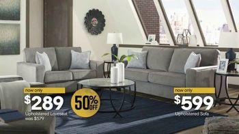 Ashley HomeStore Midnight Madness TV Spot, 'BOGO 50% Off: Sofa and Dining Set' - Thumbnail 6