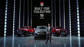Ram Trucks TV Spot, 'Built for Tailgating: Ready to Roll' Featuring Marty Smith [T1] - Thumbnail 10