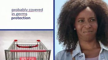 Lysol Disinfectant Wipes To Go TV Spot, 'Probably Covered in Germs Protection'