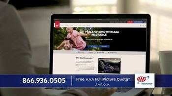 AAA TV Spot, 'Piece of Mind: Free AAA Full Picture Quote' - Thumbnail 8