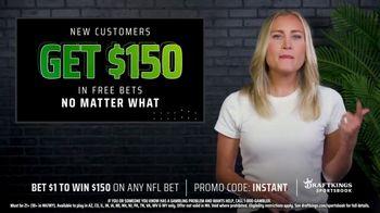 DraftKings Sportsbook TV Spot, 'NFL Instant Win: Bet $1, Win $150' - Thumbnail 3