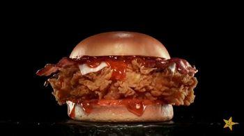 Carl's Jr. Hot Honey Hand-Breaded Chicken Sandwich TV Spot, 'Honey Just Got Its Own Stinger'