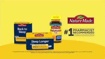 Nature Made Sleep Longer Tablets TV Spot, 'Win the Night: Buzzing Phone' - Thumbnail 9