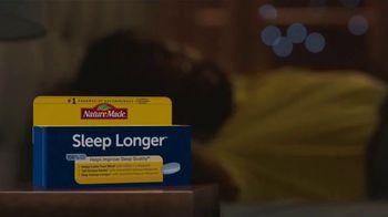 Nature Made Sleep Longer Tablets TV Spot, 'Win the Night: Buzzing Phone' - Thumbnail 4