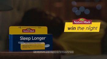 Nature Made Sleep Longer Tablets TV Spot, 'Win the Night: Buzzing Phone' - Thumbnail 5
