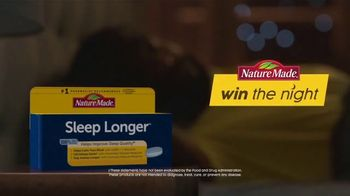 Nature Made Sleep Longer Tablets TV Spot, 'Win the Night: Buzzing Phone' - Thumbnail 6