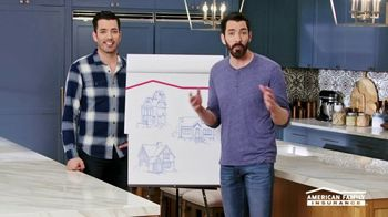 American Family Insurance TV Spot, 'Homestyle: Pairs' Featuring Drew and Jonathan Scott - Thumbnail 1