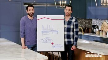 American Family Insurance TV Spot, 'Homestyle: Pairs' Featuring Drew and Jonathan Scott - Thumbnail 6