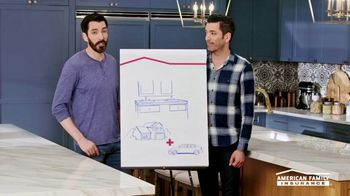 American Family Insurance TV Spot, 'Homestyle: Pairs' Featuring Drew and Jonathan Scott - Thumbnail 7