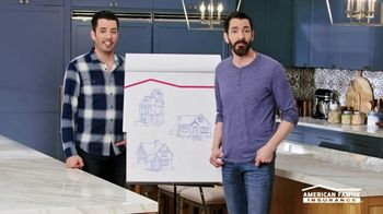 American Family Insurance TV Spot, 'Homestyle: Pairs' Featuring Drew and Jonathan Scott