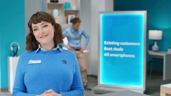 AT&T Wireless TV Spot, 'Lily Rotating Sign + Best Deals'