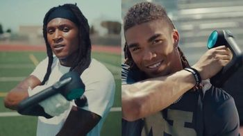 Therabody TV Spot, 'The Professional Grind' Featuring D.K. Metcalf, Chase Claypool, Deandre Hopkins - 90 commercial airings