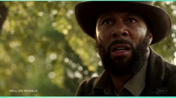 AMC+ TV Spot, 'Hell on Wheels'