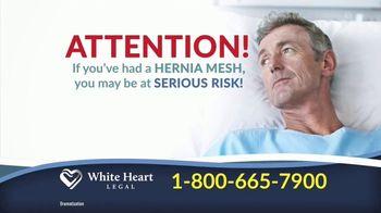 White Heart Legal TV Spot, 'Hernia Mesh: Serious Risk'