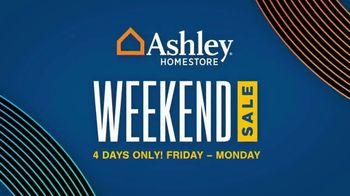 Ashley HomeStore Weekend Sale TV Spot, 'Save 20% Storewide and No Interest'