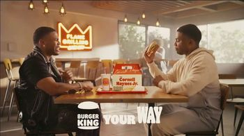 Burger King Cornell Haynes Jr. Meal TV Spot, 'Keeping It Real and Extra Hot' Song by Nelly