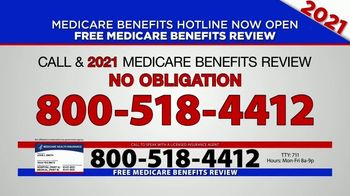 Medicare Benefits Hotline TV Spot, '2021 Coverage: Free Review' - Thumbnail 9