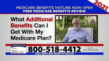Medicare Benefits Hotline TV Spot, '2021 Coverage: Free Review' - Thumbnail 1