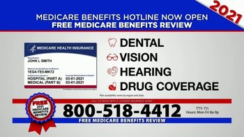 Medicare Benefits Hotline TV Spot, '2021 Coverage: Free Review' - Thumbnail 2