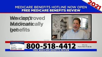 Medicare Benefits Hotline TV Spot, '2021 Coverage: Free Review' - Thumbnail 3