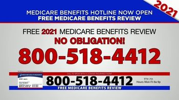 Medicare Benefits Hotline TV Spot, '2021 Coverage: Free Review' - Thumbnail 4