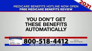Medicare Benefits Hotline TV Spot, '2021 Coverage: Free Review' - Thumbnail 6