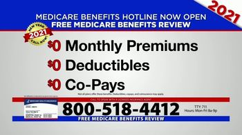 Medicare Benefits Hotline TV Spot, '2021 Coverage: Free Review' - Thumbnail 8