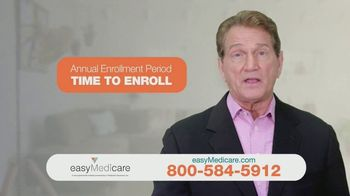 easyMedicare.com TV Spot, 'Up to $3,330 Extra Next Year' Featuring Joe Theismann