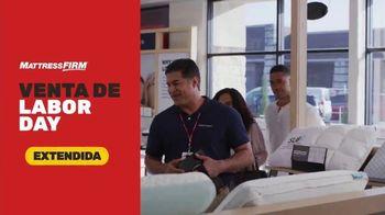 Mattress Firm Venta de Labor Day TV Spot, 'Extendida: regalo de $300 dólares' [Spanish]