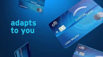 Citi Custom Cash Card TV Spot, 'It Adapts to You'