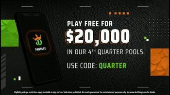DraftKings TV Spot, 'Earn Quarters in the Fourth Quarter' - Thumbnail 9