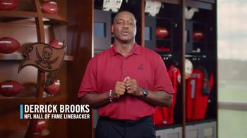 Moffitt Cancer Center TV Spot, 'Prostate Cancer' Featuring Derrick Brooks