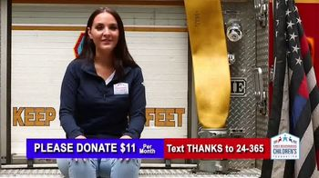 First Responders Children's Foundation TV Spot, 'My Dad Was Brave'