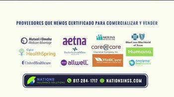 Nations Insurance Solutions TV Spot, 'Ayuda en planes médicos' [Spanish] - Thumbnail 6