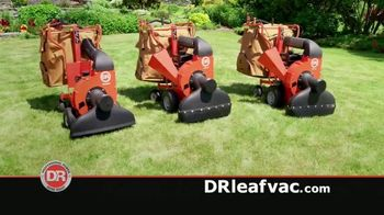 DR Leaf and Lawn Vacuum TV Spot, 'Inhales Everything: Easy Financing'
