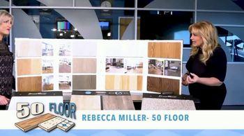 50 Floor February Special TV Spot, 'Options: Floor'