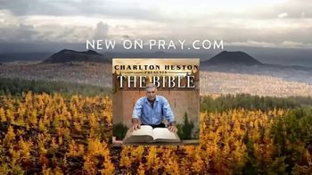 Pray, Inc. TV Spot, 'Charlton Heston Presents: The Bible' - Thumbnail 6