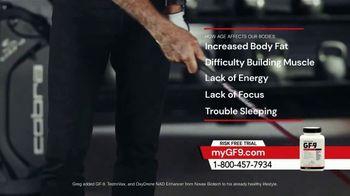 GF-9 TV Spot, 'Age' Featuring Greg Norman - Thumbnail 2
