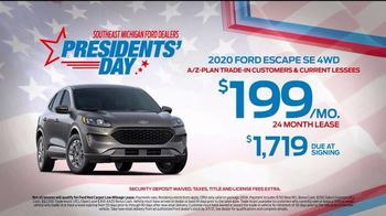 Ford Presidents Day TV Spot, 'In Honor: Escape' [T2] - Thumbnail 3