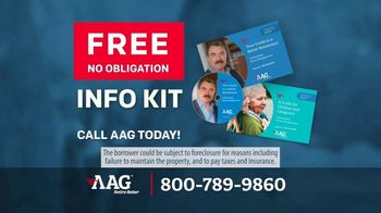 AAG Reverse Mortgage Loans TV Spot, 'Gotta Say Something' Featuring Tom Selleck
