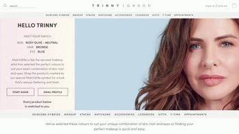 Trinny London TV Spot, 'Match2Me: The New Way To Buy Makeup' Featuring Trinny Woodall - Thumbnail 8