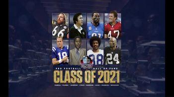Pro Football Hall of Fame TV Spot, 'Class of 2021: Shop Gear'