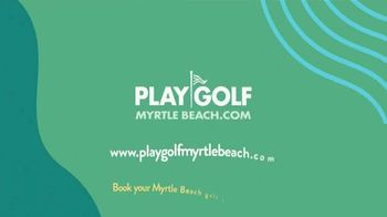 Myrtle Beach Golf Holiday TV Spot, 'Golfers Are Different: Never Stop' - Thumbnail 9