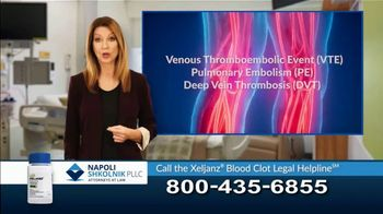 Napoli Shkolnik PLLC TV Spot, 'Xeljanz Blood Clots' - Thumbnail 10