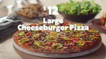 Papa Murphy's Cheeseburger Pizza TV Spot, 'Chow Down: $12'