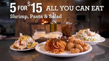 Johnny Carino's Italian Shrimp, Pasta & Salad Meal Deal TV Spot, 'Join Us: $15'