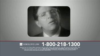 Sokolove Law TV Spot, 'TV Lawyers' - Thumbnail 1