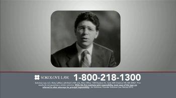 Sokolove Law TV Spot, 'TV Lawyers' - Thumbnail 3