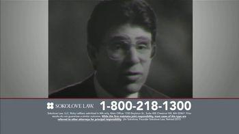 Sokolove Law TV Spot, 'TV Lawyers' - Thumbnail 4